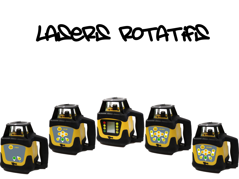 Lasers rotatifs