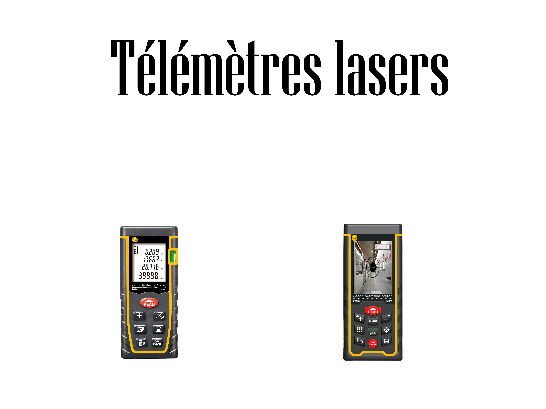 Télémètres lasers
